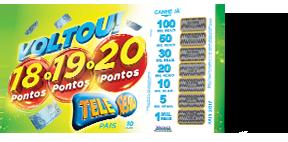 Cartela da Tele Sena de PAIS/2017