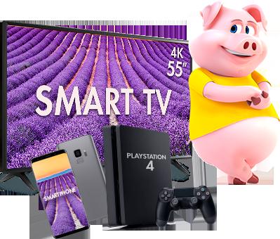 Smartphone e Smart TV + Playstation 4